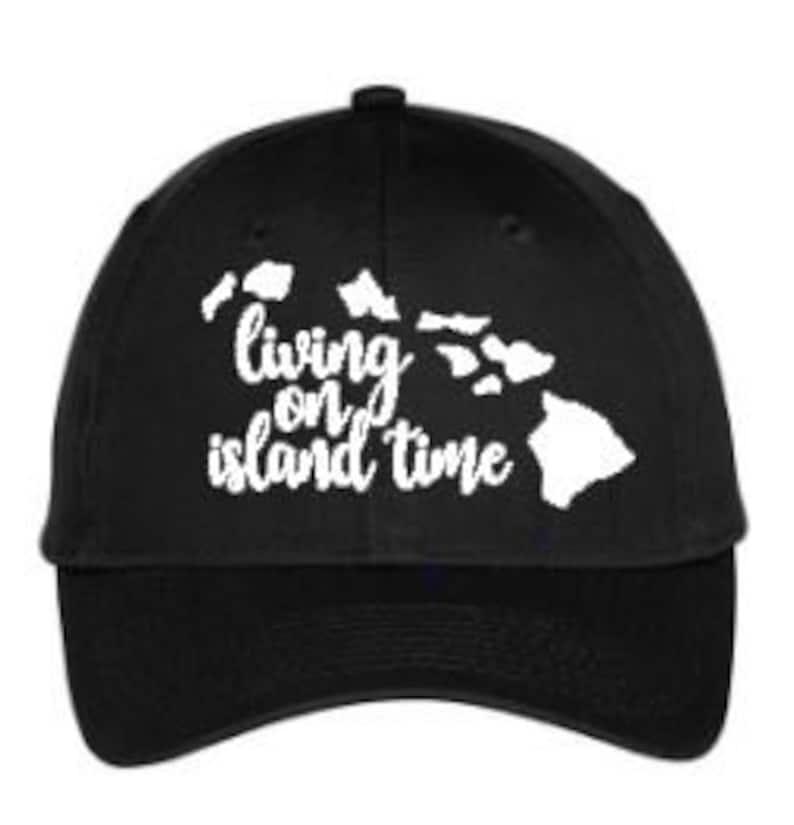 becebe330 Fun Saying Hat - Hawaiian Hat - Beach Hat - Walking Hat - Summer Hat -  Black Curvebill Hat - Gift Hat - Exercise Hat - Running Hat - Fun Hat