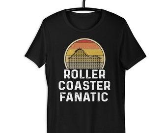 Roller Coaster Addict I Pour les fans de montagnes russes T-Shirt