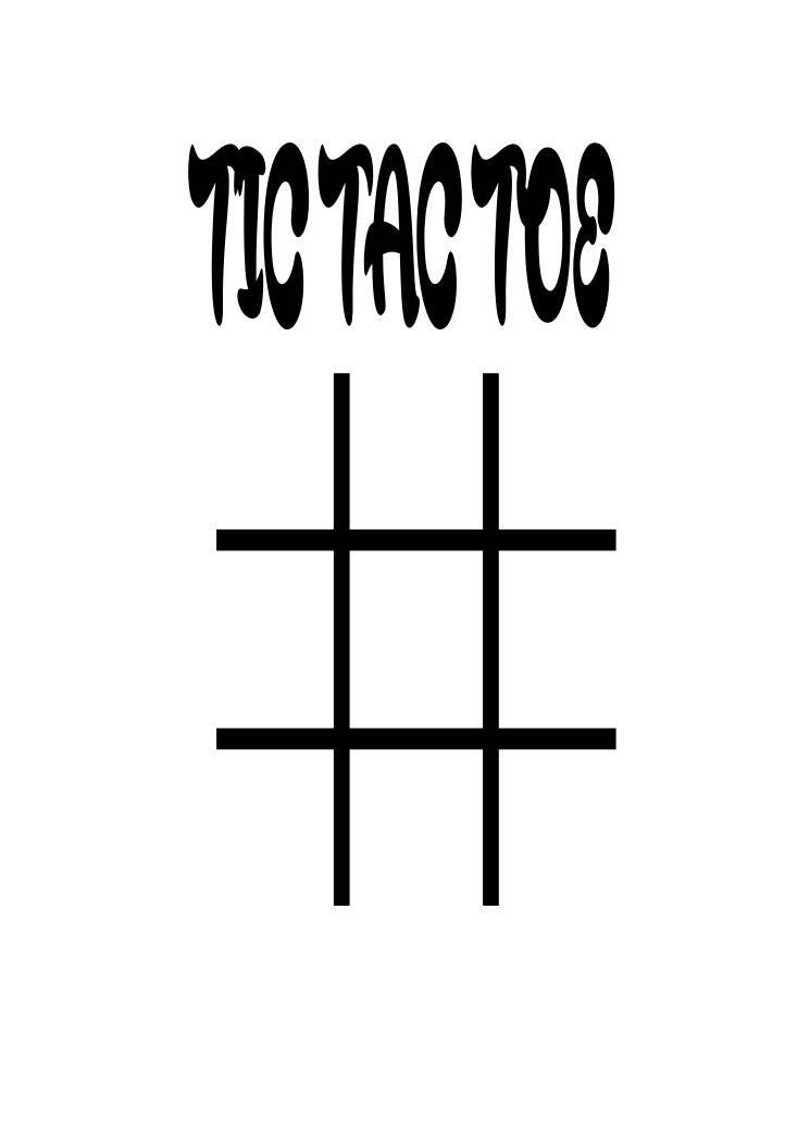 This is a picture of Insane Tic Tac Toe Boards