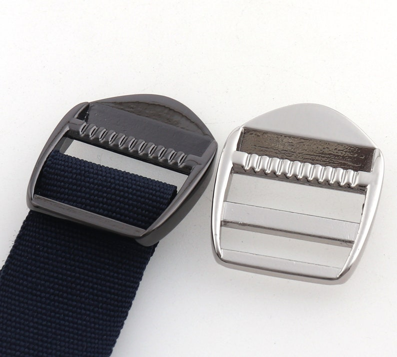 SilverGun black Strap Adjuster Slider,strap adjuster,Bag buckle,Slide Buckle,Strap Buckles,Ladder Tension Lock,Crafts Supplies-34/'/'