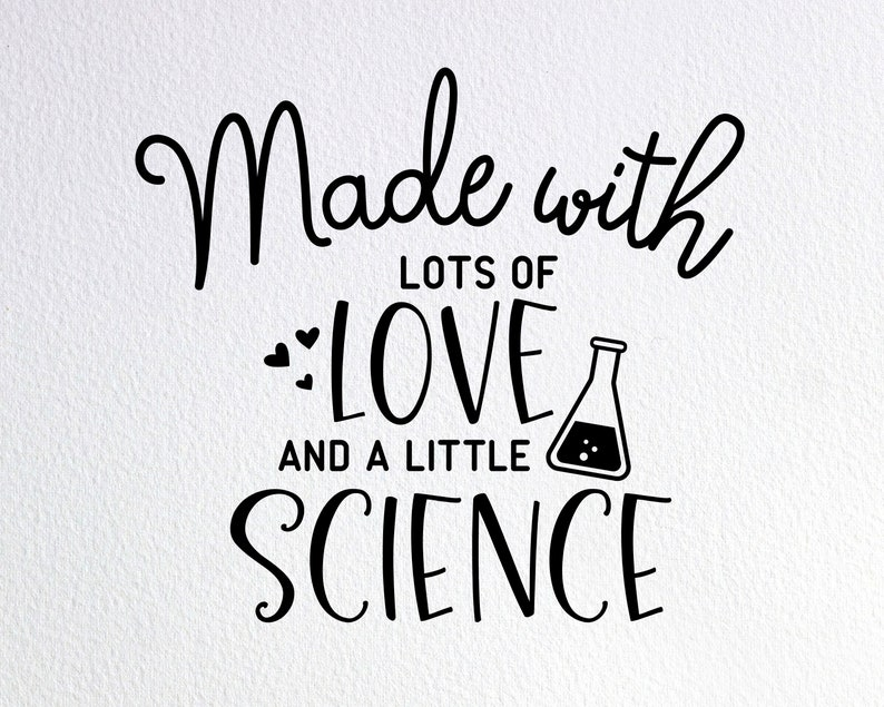 Download Made With Lots Of Love And A Little Science Svg Ivf Baby ...