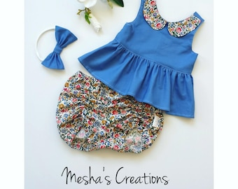 Liberty Outfit in French Blue PRE ORDER