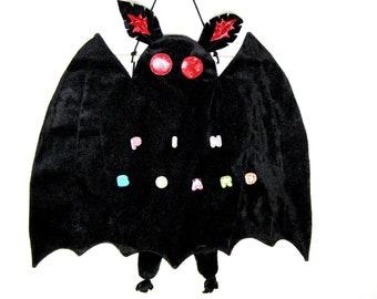 Mothman pin display board, mothman plush pin banner, pin board, enamel pin board, enamel pin banner, luna moth