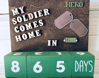 Military Hero Countdown Calendar