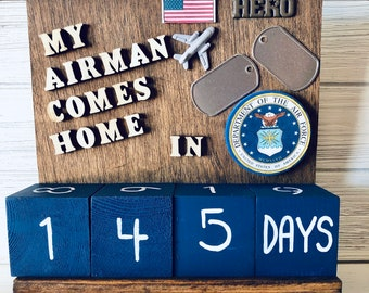 US Air Force Countdown Calendar
