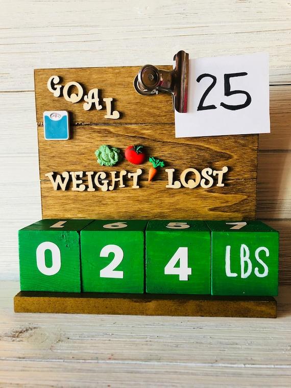 weight loss countdown calendar weight loss tracker gift for