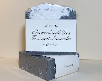 Charcoal with Tea Tree and Lavender