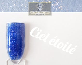 Resin acrylic nails 10gr starry sky