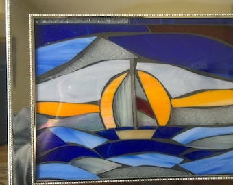 Nautical Stained Glass mosaic