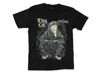 WU-TANG CLAN T-Shirt Promo Concert Tour Rap Hip Hop Gangsta Group East Coast Gza Raekwon Ghostface Killah Inspectah Deck Tops Tee Sz S