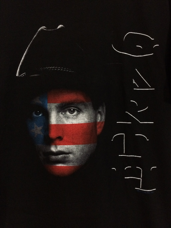 05be2203 Vintage 1994 Garth Brooks World Tour 9D Four T-Shirt Rare | Etsy