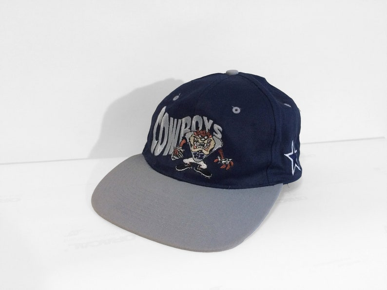 08b1c0a07c8ec Vintage 1993 Dallas Cowboys Looney Tunes Taz Baseball Cap Rare