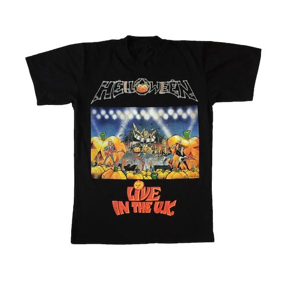 Vintage 90s HELLOWEEN  Kids Of The Century 1991 power metal band from german black sabbath anthrax motley crue promo album tour shirt