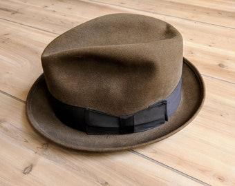 74963dbe30b 50s Vintage Knox Felt Fedora Hat