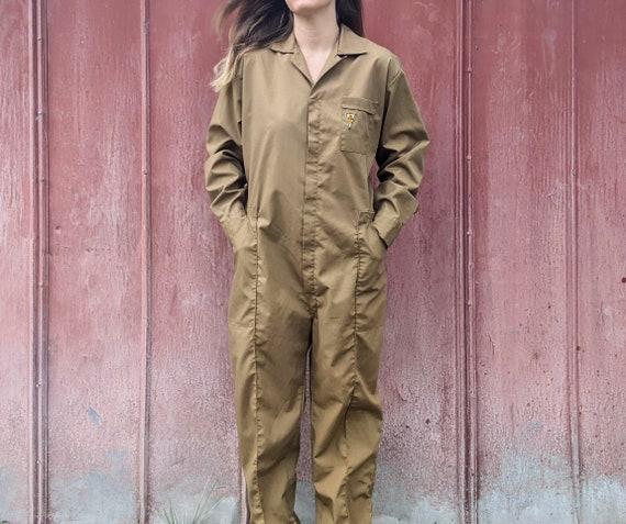 60s Utility Jumpsuit Workwear Men's M/Women's L |