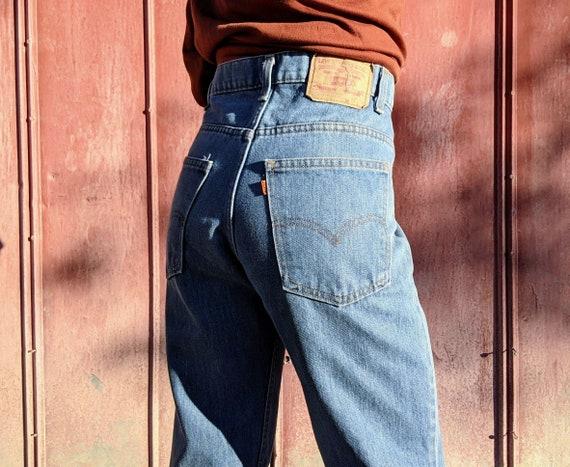 70s Levi's Orange Tab 40519 Distressed RARE 31 x 2