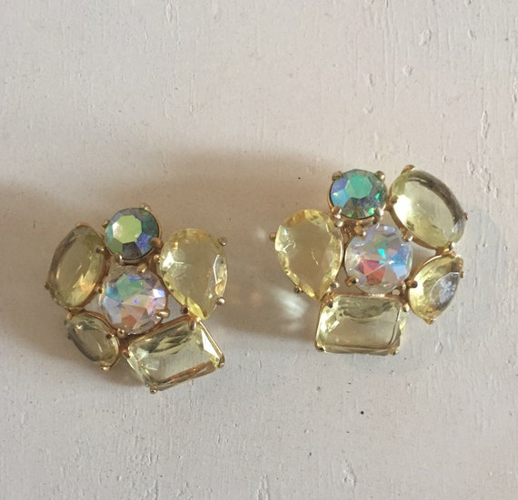Vintage Schiaparelli Clip Earrings