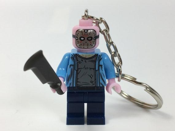 Friday The 13th Jason Vorhees Mini-Figure Keyring Keychain UK SELLER
