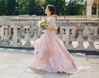Pink Wedding Gowns
