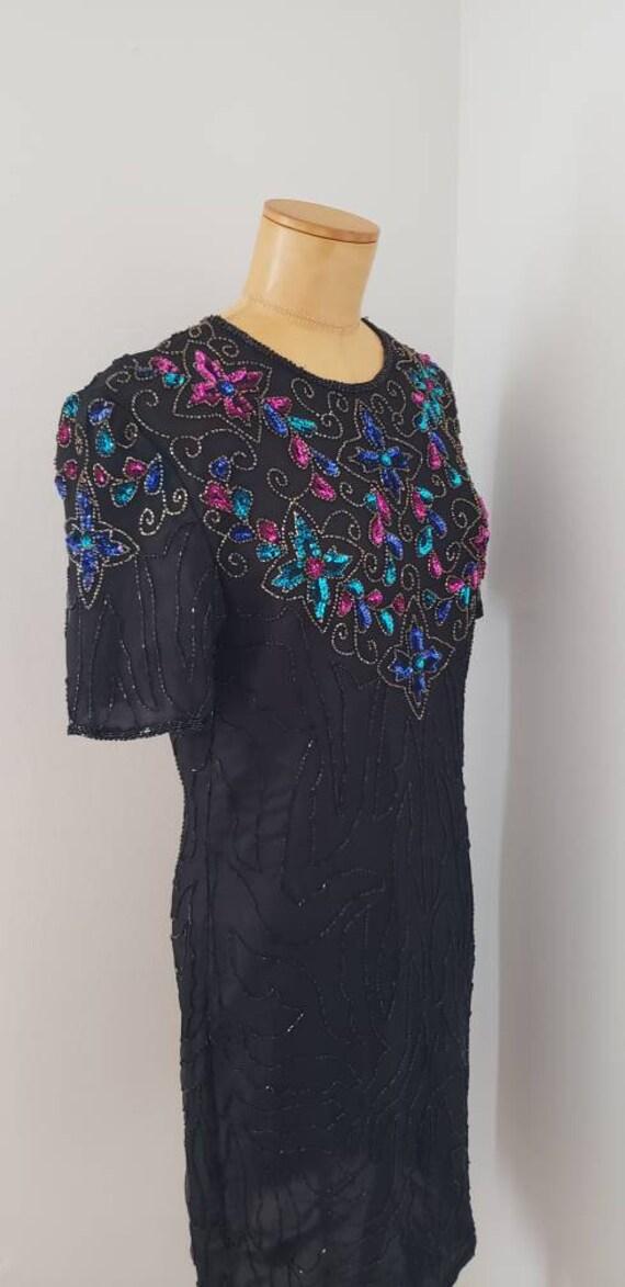 Vintage sequin gown