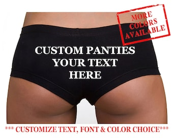 8695bc64503 CUSTOM HIPSTER PANTIES - Custom Underwear Women