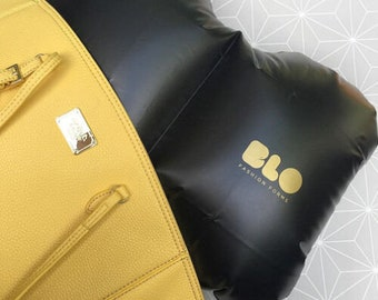 Inflatable Purse Pillow insert shaper for Large Handbags