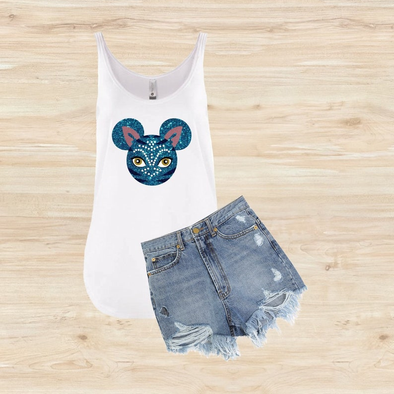 0c39f5ca Womens Avatar Shirt Womens Avatar Tank Top Womens Animal | Etsy