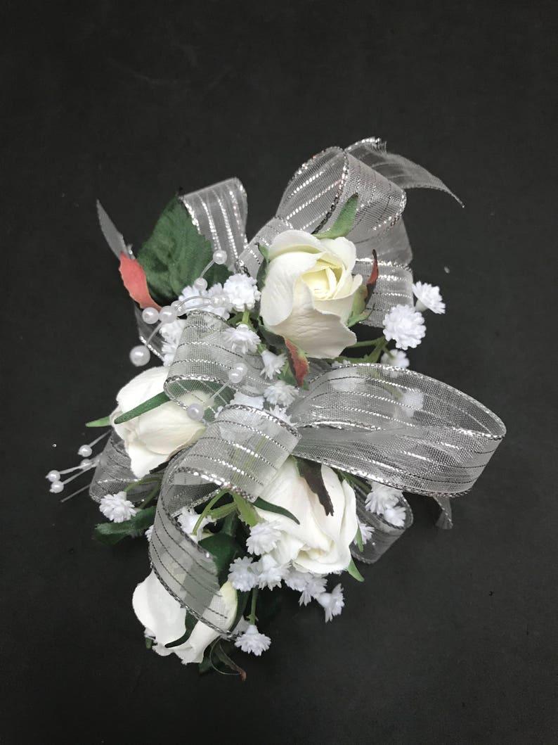 Custom Silk Corsage