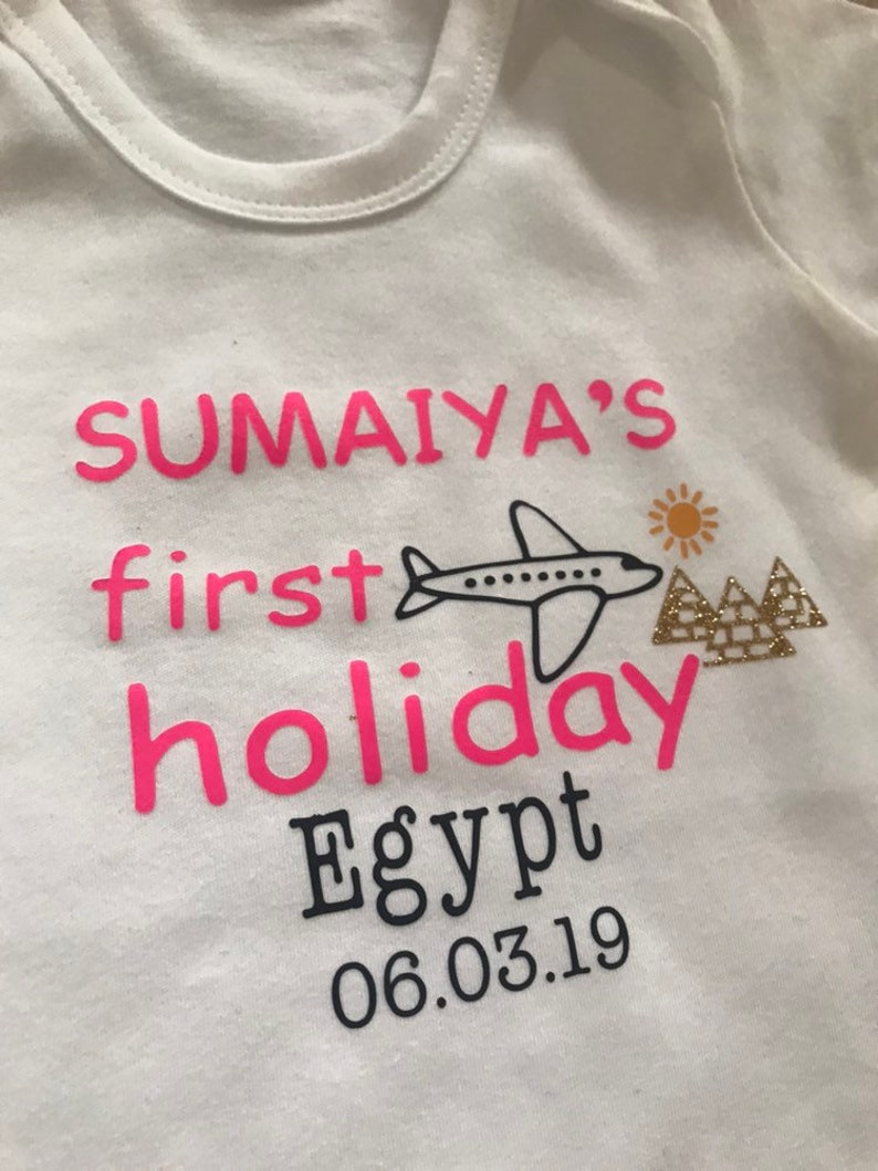 8e6ce2cb My first time flying kids tshirt top boys girls personalised | Etsy
