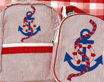 Anchor With Rope 4x4NAUTICAL Theme, ANCHOR,Towels,Fathers Day,Beach Towel,Embroidery Design,