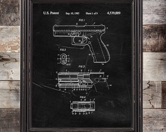 Glock decor | Etsy