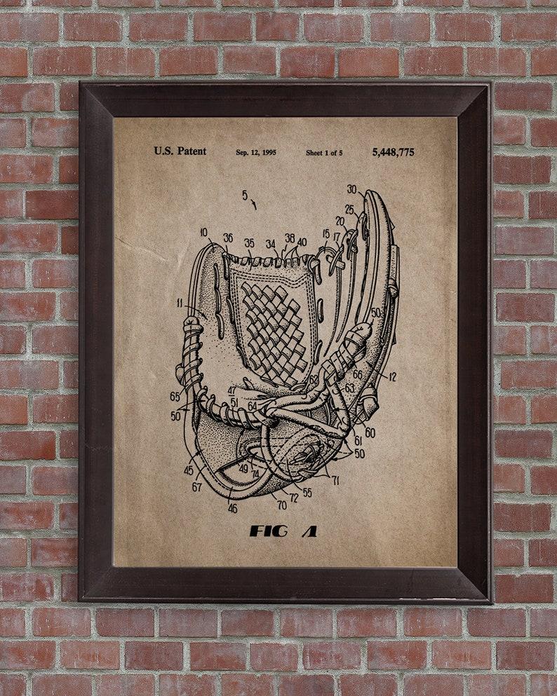 Baseball Patent Print Set of 3 Baseball,DIGITAL DOWNLOAD Baseball Art,Baseball Wall Art,Baseball poster,Baseball Bat,Baseball Glove