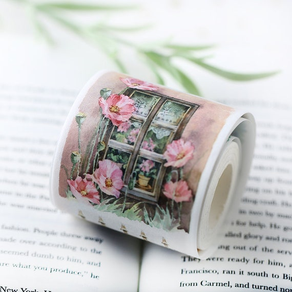 Samples washi tape samples daily inspirations adorable watercolor wood patter Asian window frame 60cm