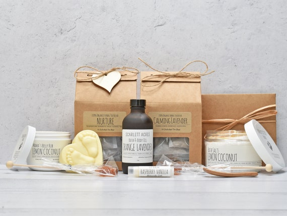 Postpartum Care Package, New Mom Care Package, Postpartum Recovery Gift, Pregnancy Gift Box, New Mom Gift Basket, First Time Mom Gift Box