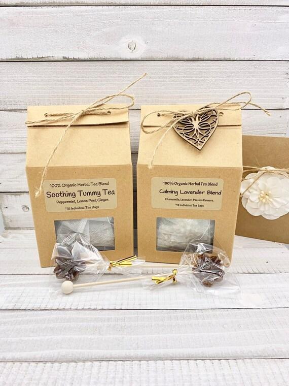 Tea Gift Basket, Tea & candle Gift Set, Christmas Gift Box, Mom Birthday Gift Box, Birthday Gifts For Her, Gift Baskets For Women