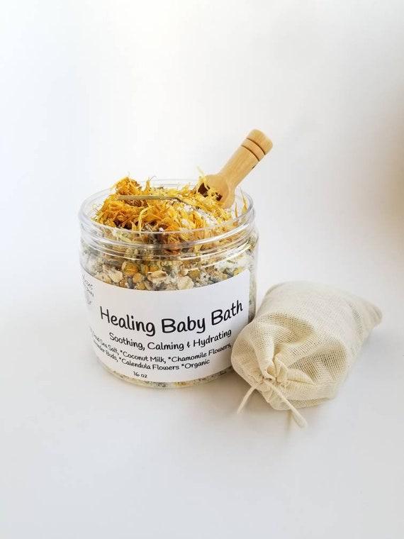 Healing Eczema Bath / Herbal Baby Bath / Eczema Bath / Baby Eczema / Eczema  Relief / Dry Skin Relief / Oatmeal Bath / Coconut Milk Bath