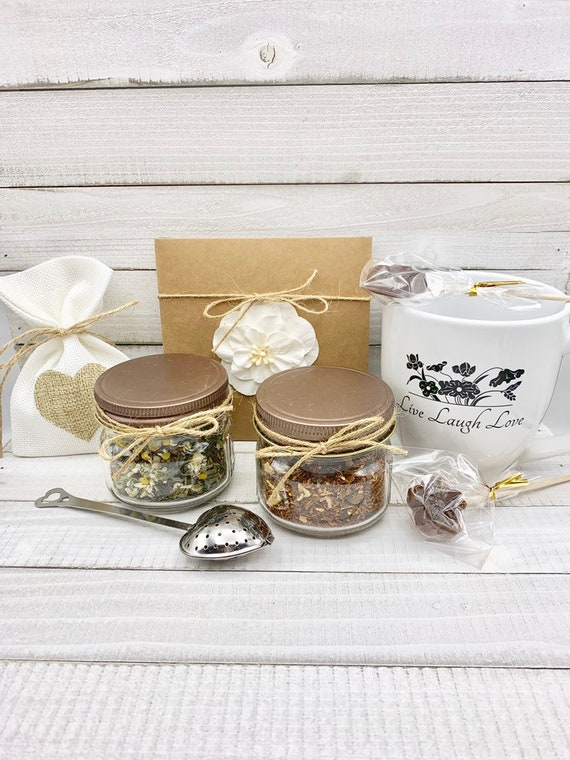 Tea Lover Gift, Sister Birthday Gift, Tea Gift Set, Thank You Gift Box, Mom Birthday Gift Box, Thank You Gifts, Gift Baskets For Women