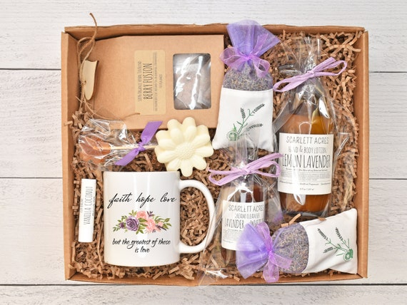 Cancer Care Package / Chemo Care Package / Get Well Soon Gift Box / Cancer Gift Box / Cancer Gift Basket / Nausea Relief Tea Gift Set