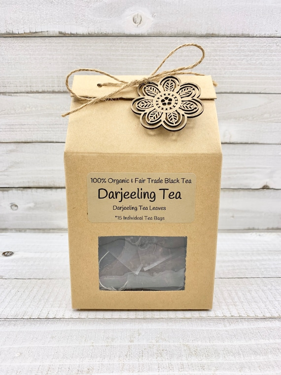Organic Darjeeling Tea, Black Tea Bags, Loose Leaf Tea, Organic Black Tea, Tea Bags, Darjeeling Tea, Tea Gifts, Tea Lover Gift, Tea Gift Box
