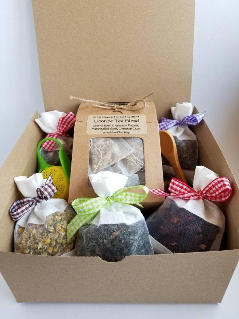 Tea Gift Set Gifts Box For Women Basket