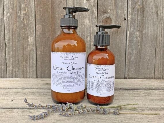 Lavender Cream Cleanser, Sensitive Skin Cleanser, Lavender Face Wash, Dry Skin Cleanser, Rosacea Cleanser, Eczema Cleanser