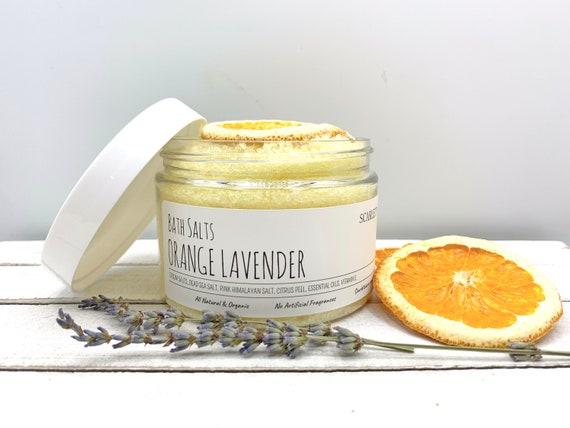 Organic Bath Salts, Herbal Bath Soak, Citrus Bath Salts, Detox Bath Salts, Calming Bath Soak, Herbal Bath Salts, Lemon Lavender Bath Soak