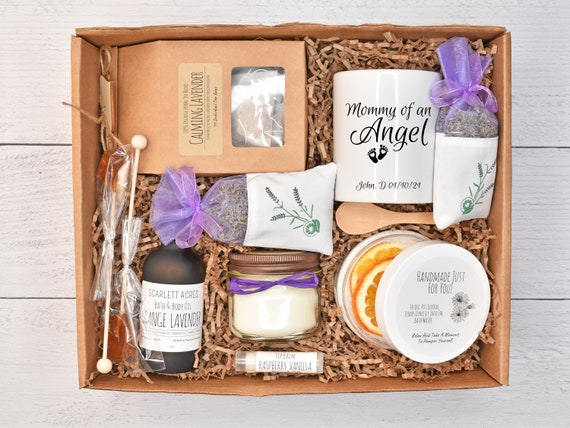 Miscarriage Gift Box, Miscarriage Basket, Loss Of Child Gift, Loss Of Baby Gift, Grieving Mother Gift Box, Death Of Baby Gift