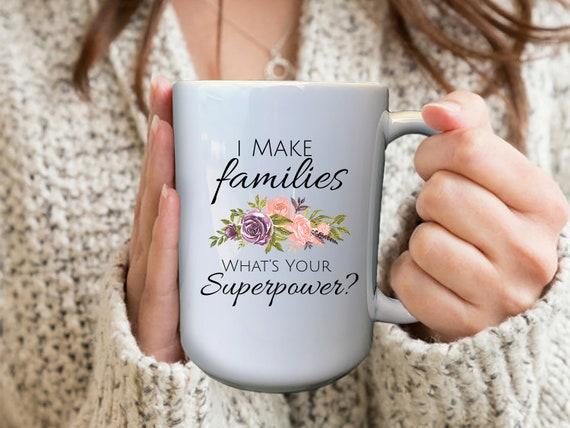 Surrogate Mug, Surrogacy Gift, Surrogate Mother, Surrogate Birthday Gift, Surrogate Mom, Personalized Mug, Thank You Gift, IVF Gift