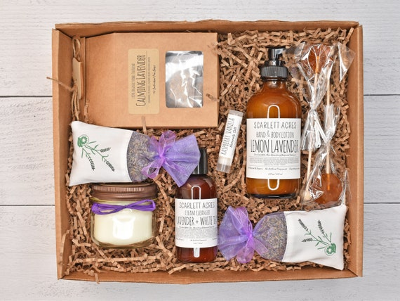 Gift Baskets For Women, Mom Birthday Gift Box, Sister Birthday Gift Basket, Stress Relief Gift Box, Self Care Gift Box, Relaxation Gift Box
