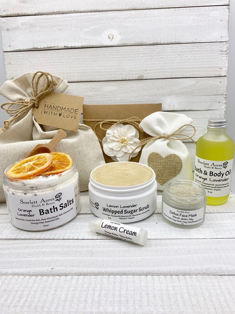 Mothers Day Spa Gift Set For Mom Birthday Care Package