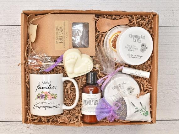 Surrogate Mom Gift Set, Surrogate Mother Gift Box, Surrogate Bath Set, Organic Spa Gift Set, IVF Gift Box, Surrogate Pamper
