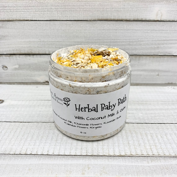 Herbal Baby Bath, Coconut Milk Bath Soak, Oatmeal Baby Bath, Calming Baby Bath, Lavender Baby Bath, Herbal Bath Tea, Chamomile Baby Bath