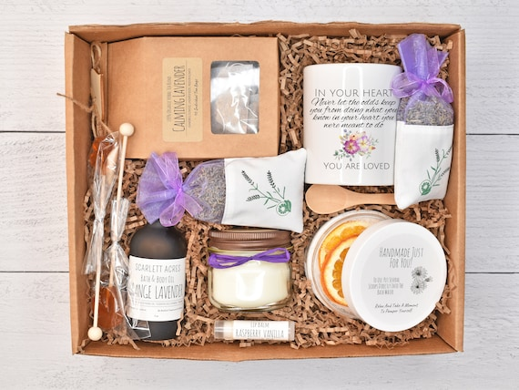 Fertility Care Package, Infertility Gift Box, Fertility Gift Basket, Relaxation Gift Box, Fertility Tea Gift Set, Self Care Gift Box