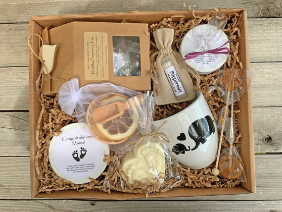 Expecting Mom Gift Basket, Mom To Be Gift Box, First Time Mom Gift Set, New Mom Care Package, Congratulations Pregnancy Gift Box